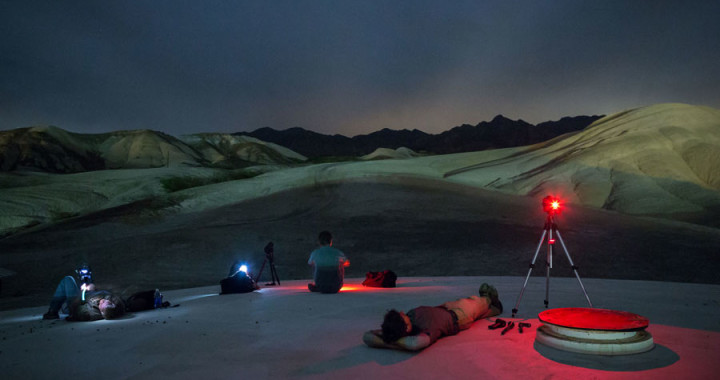 Death Valley night photography
